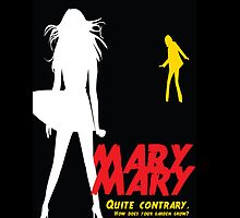 Mary, Mary, Quite Contrary (Panel 3 of 3) by marv42