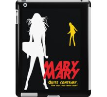 Mary, Mary, Quite Contrary (Panel 3 of 3) iPad Case/Skin