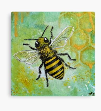 Bumble Bumble Canvas Print