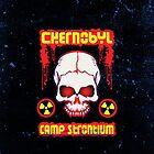 Chernobyl Strontium Skull by TropicalToad