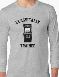 Gamer Classically Trained Long Sleeve T-Shirt