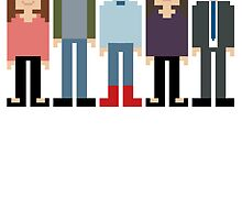 How I Met Your Mother Pixel by EvelynGonzalez