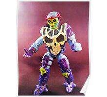 Spin Blade Skeletor Toy Portrait Poster