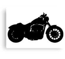 Harley Davidson Iron Canvas Print