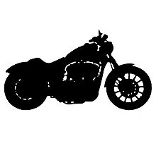 Harley Davidson Iron Photographic Print