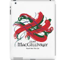 Clan MacGillivray -  Prefer your gift on Black/White tell us at info@tangledtartan.com  iPad Case/Skin
