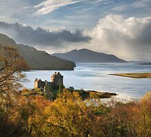 Eilean Donan Castle in Autumn. Highland Scotland. by photosecosse /barbara jones