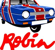 Reliant Robin Union Jack by car2oonz