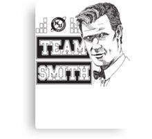 TEAM SMITH Canvas Print