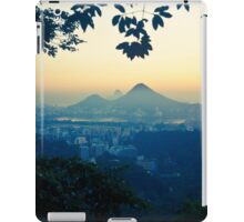 Rio sunrise iPad Case/Skin