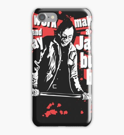 All work and no play makes a Jack bull boy iPhone Case/Skin