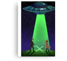 The X-Files / UFO Canvas Print