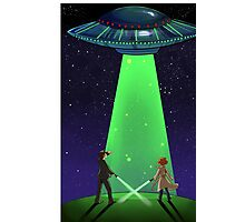 The X-Files / UFO Photographic Print