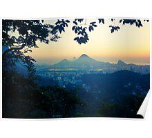 Rio sunrise Poster