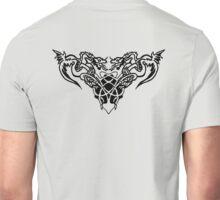 Black dragons Unisex T-Shirt