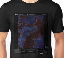 USGS TOPO Map Alaska AK Craig B-5 355274 2000 63360 Inverted Unisex T-Shirt