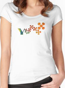 The Name Game - The Letter Y Women's Fitted Scoop T-Shirt
