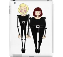 French and Saunders inspired design iPad Case/Skin