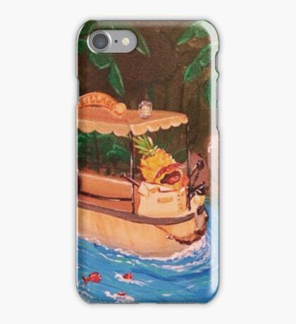Screaming Pineapple Jungle Cruise Skipper iPhone Case/Skin