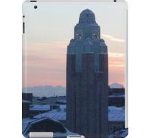 Helsinki station at sunrise iPad Case/Skin