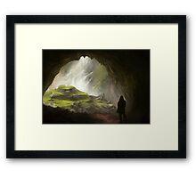 Fantasy Cave Framed Print