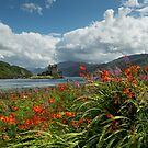 Eilean Donan Castle in Summer. Highland Scotland. by PhotosEcosse