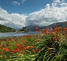 Eilean Donan Castle in Summer. Highland Scotland. by photosecosse /barbara jones