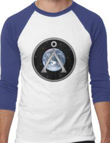 Earth Patch Men's Baseball ¾ T-Shirt