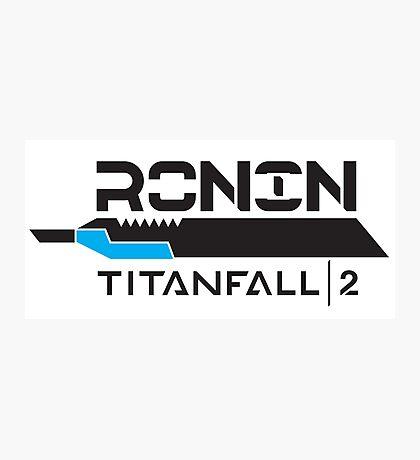 Titanfall 2 - Ronin Photographic Print