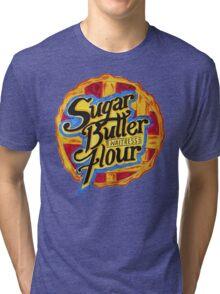 Sugar Butter Flour Tri-blend T-Shirt