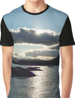 wild atlantic way ireland with a cold sunset Graphic T-Shirt