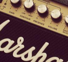 Marshall Amp Sticker