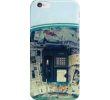 Public telephone iPhone Case/Skin