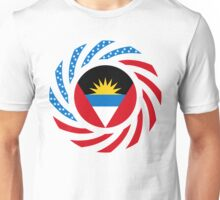 Antigua & Barbuda American Multinational Patriot Flag Unisex T-Shirt