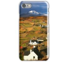 Tarskavaig Crofting Village, Isle of Skye, Scotland. iPhone Case/Skin