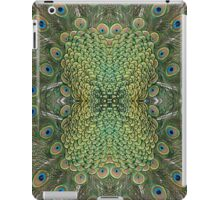 Peafowl Feather Symmetry Pattern iPad Case/Skin
