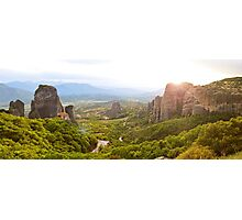 Meteora Panoramic Photographic Print