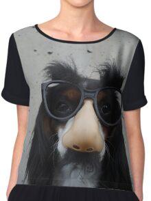 Nosy Dog Chiffon Top