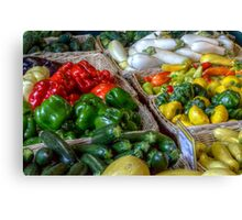 Vegetables Canvas Print