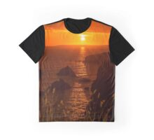 wild atlantic way rocky sunset Graphic T-Shirt
