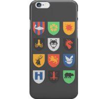 sigils of the seven kingdoms iPhone Case/Skin