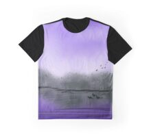 The Purple Colored Sky Graphic T-Shirt