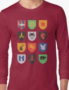 sigils of the seven kingdoms Long Sleeve T-Shirt