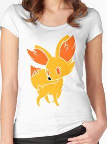 Fennekin 1 Women's Fitted Scoop T-Shirt