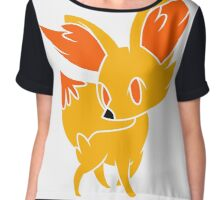Fennekin 1 Women's Chiffon Top