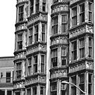 B&W -  Living in San Francisco - Columbus Tower by Buckwhite