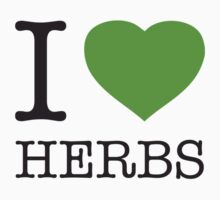 I ♥ HERBS One Piece - Short Sleeve
