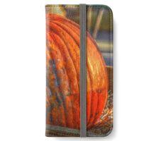 Pumpkin In Cart iPhone Wallet/Case/Skin