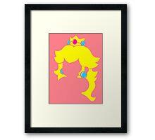 Princess Peach Framed Print