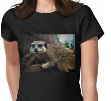 Can you take this hair off my nose please? Womens Fitted T-Shirt